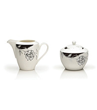 Mikasa® Urban Rose Sugar Dish and Creamer