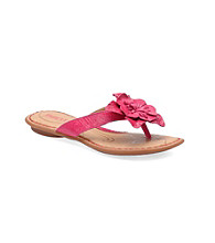 """Born Girls' """"ChaCha"""" Floral Slide-in Sandal"""