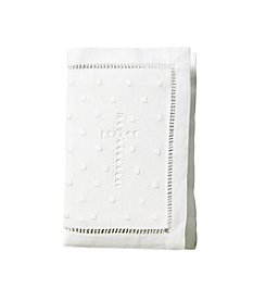 Elegant Baby® White Bible Cover
