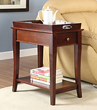Home Interior Tulsa Tray-Top End Table - Cherry