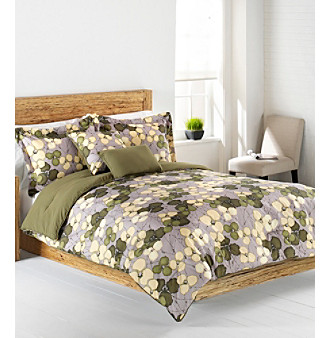 Nip living quarters loft veridian 4 piece bedding ensemble for Living quarters loft