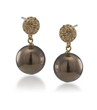 Carolee® Large Double Drop Earrings
