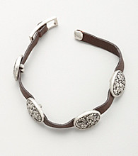 Nine West Vintage America Collection® Metal Stations Bracelet