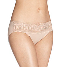 Naomi & Nicole® Wonderful Edge Lace Trim Hipster