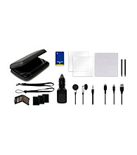 CTA Digital 12-in-1 Adventure Pack for Nintendo 3DS - Black