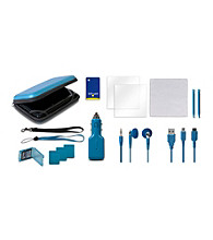 CTA Digital 12-in-1 Adventure Pack for Nintendo 3DS - Blue