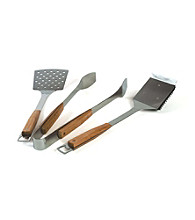 Charcoal Companion® Pacific Bamboo 3-pc. BBQ Tool Set