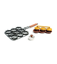Charcoal Companion® 3-pc. Deluxe Mini Burger Set