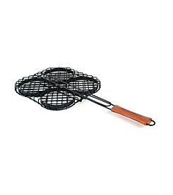 Charcoal Companion® Hamburger Grilling Basket