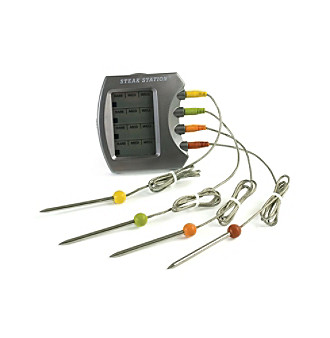 Charcoal Companion® Steak Station® Digital Meat Thermometer
