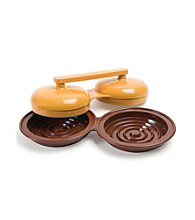 Charcoal Companion® Double Hamburger Patty Press