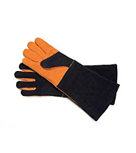 Steven Raichlen Best of Barbecue™ Pair of Extra-Long Suede Gloves