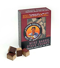 Steven Raichlen Best of Barbecue™ Wine Barrel Stave Chunks - 143 cu.in.
