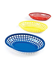 Charcoal Companion® BBQ Serving Basket Set