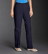 Jones New York Signature® Petites' Twill Ankle Pants