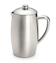 Bon Jour® 8-Cup Triomphe Double Wall Stainless Steel French Press