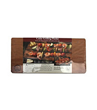 Nature's Cuisine Set of 4 Cedar 14x7