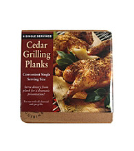 Nature's Cuisine Set of 6 Cedar 5.5x5.5