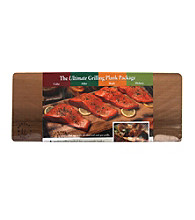 Nature's Cuisine Set of 4 Cedar, Alder, Maple and Hickory 14x5.5