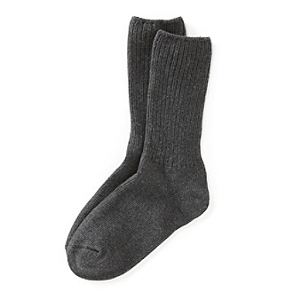 Relativity® Basic Ribbed Socks