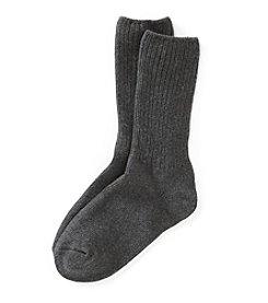 Relativity® Basic Ribbed Socks