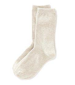 Relativity® Basic Flat Knit Socks
