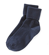 Relativity® Basic Turn Cuff Socks