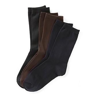 Relativity® Basic Microfiber Socks