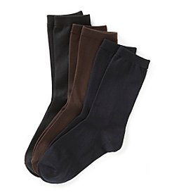Relativity® Basic Microfiber Socks