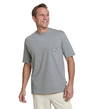 Tommy Bahama® Men's Gray Heather Bali High Tide Tee Shirt