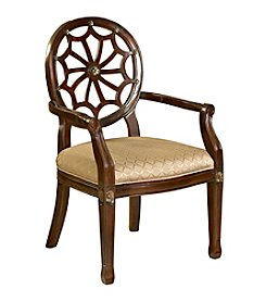 Powell® Spider Web Back Accent Chair