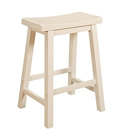 Powell® Color Story Counter Stool - Pure White