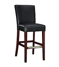 Powell® Bonded Leather Bar Stool - Black