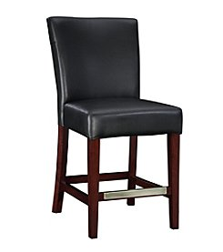 Powell® Bonded Leather Counter Stool - Black