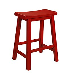 Powell® Color Story Counter Stool - Crimson Red