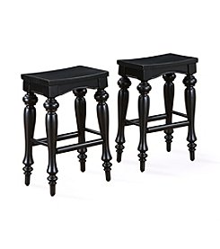 Powell® Pennfield Kitchen Island Counter Stool - Black