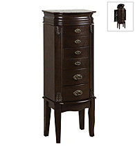 Powell® Italian-Influenced Transitional Jewelry Armoire - Espresso