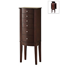 Powell® Jewelry Armoire - Merlot