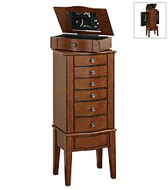 Powell® Jewelry Armoire - Warm Cherry