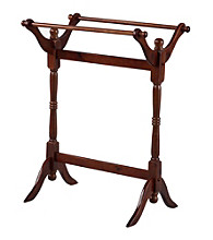 Powell® Heirloom Cherry Blanket Rack