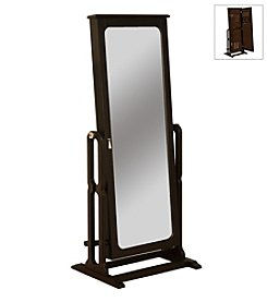 Powell® Antique Black Cheval Jewelry Wardrobe™