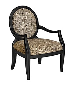Powell® Oval Back Accent Chair - Leopard