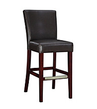 Powell® Bonded Leather Bar Stool - Brown