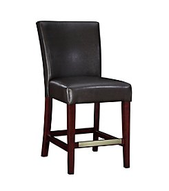 Powell® Bonded Leather Counter Stool - Brown