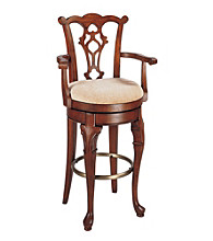 Powell® Jamestown Landing Swivel Arm Bar Stool