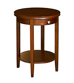 Powell® Shelburne Cherry Accent Table