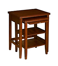 Powell® Shelburne 2-pc. Nested Tables Set - Cherry