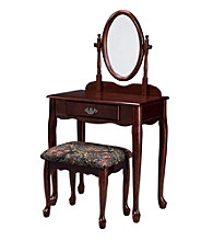 Powell® Vanity Set - Heirloom Cherry