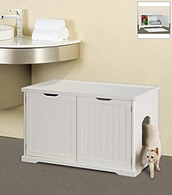Merry Pet House Large Cat Washroom Bench