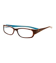 Café Readers® Reading Glasses - Teal Tortoise